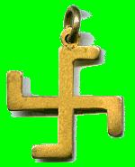 1st Swastika Thanks Badge